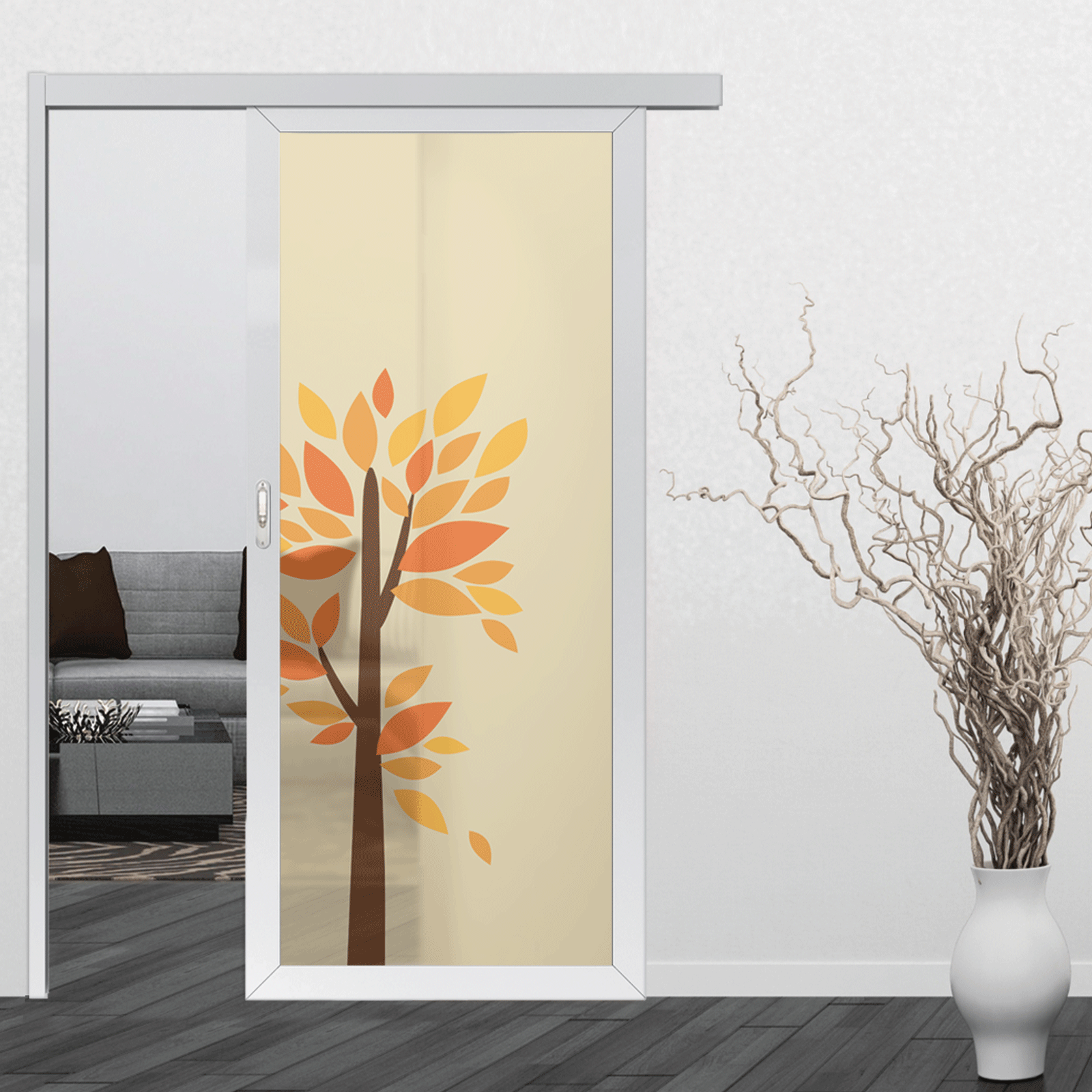 Our Alu door is the modern aluminium door.It gives you contemporary feeling and taste of the modern lifestyle design for your ideal home. & Alu Door