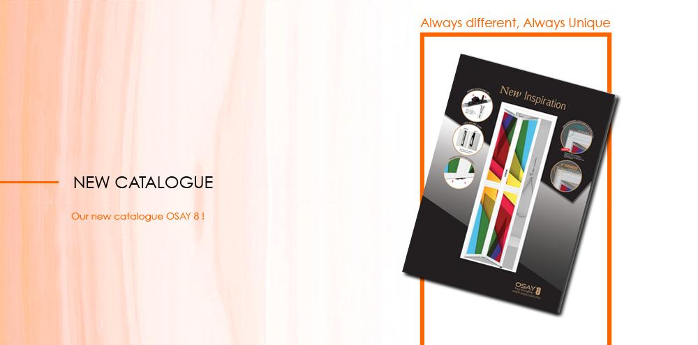 New catalogue OSAY 8